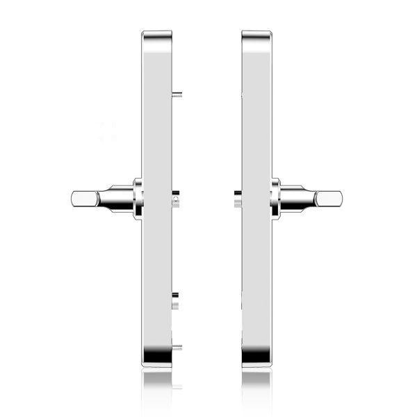 Cerradura digital VÖHK S-10 Silver acceso huella digital, tarjeta RFID, smartphone, código