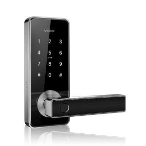 Cerradura digital VÖHK V-10 acceso huella digital, tarjeta RFID, smartphone, código