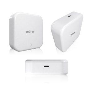 Hub VÖHK Plus acceso huella digital, tarjeta RFID, smartphone, código